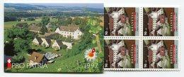 RC 12209 SUISSE 1997 CARNET PRO PATRIA COMPLET  NEUF ** - Postzegelboekjes