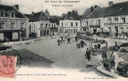 VERTUS - La Place Du Marché - Vertus
