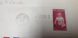 Join A Thrift Club New Zealand 1963 Cancel Cancellation - Nuova Zelanda