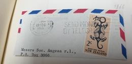 Send Money By Telegram New Zealand 1966 Cancel Cancellation - Nuova Zelanda