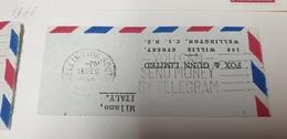 You Can Send Money By Telegram New Zealand 1966 Cancel Cancellation - Nuova Zelanda
