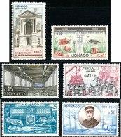 1960 - MONACO - Cat. Yvert E Tellier N° 526-527-528-529-530-531 - Nuovi Con Gomma Originale Intatta - Unused Stamps