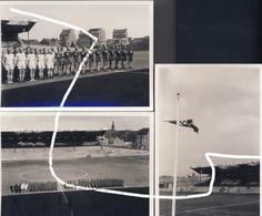 5 Charleroi Occupation. Match De Football Entre Deux équipes Allemandes Au Stade Du Sporting. Repros. - 1939-45