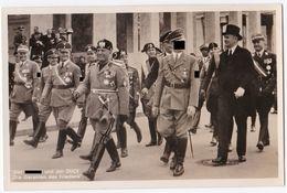 Hoffmann Fotokarte Hitler Und Der Duce Die Garanten Für Den Frieden 1937 - 1939-45