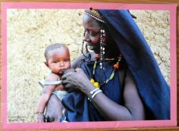 FEMME BEBE AU SEIN ALLAITEMENT MOURDIAH MALI PHOTO LUCA GARGANO BREASTFEEDING MATERNITE SEINS NUS TETEE - Ethnics