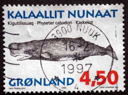 Geenland 1996 Wale Whale  MiNr.290( Lot A 473) - Used Stamps