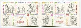 RC 12212 SUISSE 1999 CARNET LES AMOURS DE MR VIEUX BOIS BANDE DESSINÉE COMPLET  NEUF ** - Booklets