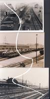 5 Charleroi. La Gare Du Sud En 1940 Et 1945. Avec Blindés Somua Et H-39 Français Capturés. Repros - 1939-45