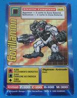 DIGIMON  GORILLAMON 1999 BANDAI CARDS - Trading Cards