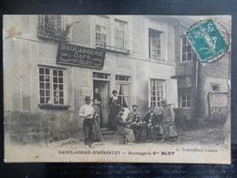 SAINT ANDRE D' HEBERTOT 1910 : BOULANGERIE VEUVE BLOT - France