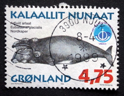 Geenland 1998 Wale Whale  MiNr.321  ( Lot A 628) - Used Stamps