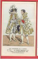 UNIFORME 1e EMPIRE JOSEPH ET LOUIS BONAPARTE 1804 COSTUME DE PRINCE FRANCAIS NAPOLEON DESSIN DE BENIGNI - Uniforms