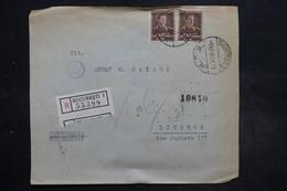 ROUMANIE - Enveloppe En Recommandé De Bucarest Pour Lisbonne En 1943 Avec Censure  Affranchissement Plaisant - L 27094 - 1918-1948 Ferdinand, Charles II & Michael