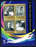 Bloc Sheet Jeux Olympiques Champions Olympic Athenes Athens Gymnastique Gymnastic Neuf  MNH **  Palau 2016 - Summer 1896: Athens
