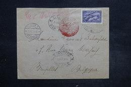 ROUMANIE - Enveloppe Par Avion Pour La Belgique Via Berlin En 1934  Affranchissement Plaisant - L 27095 - 1918-1948 Ferdinand, Charles II & Michael
