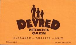 Ancien BUVARD Illustré DEVRED - Blotters