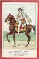 UNIFORME 1e EMPIRE JEROME BONAPARTE 1809 ROI DE WESTPHALIE NAPOLEON DESSIN DE V. HUEN - Uniformes