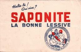 Ancien BUVARD Illustré SAPONITE - Blotters