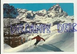 Skieur. Val D'Aoste. La Conca Di Cervinia. Fotoedizioni Brunner & C. - Non Classés