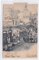 TANGER. UNA CALLE. HAUSER Y MENET. CIRCULEE 1903 URUGUAY  - BLEUP - Tanger
