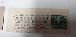 Goedkoope Telegrammen Nederland 1936 Cancel Cancellation - Periode 1891-1948 (Wilhelmina)