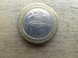 Chili  100 Pesos  2008 Km 236 - Chili