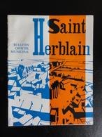 Saint-Herblain (44) -  Bulletin Municipal Numéros 1, 4, 5 ,6 (1967 à 1972) - Pays De Loire
