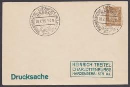 """Sst """"Nassau/Lahn, Luftkurort"""", 20.7.25, Auf PU 99 A 1 - Germany"""