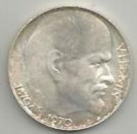Cecoslovacchia, 1970, Lenin, 50 Kr. Ag. - Cecoslovacchia