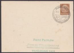 """Sst """"Rumburg, Sudetenland"""", 23.7.42, Auf PP 122 A 1 - Briefe U. Dokumente"""
