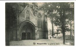 CPA - Carte Postale -Belgique Nieuwpoort - Portail De L'Eglise VM1953 - Nieuwpoort