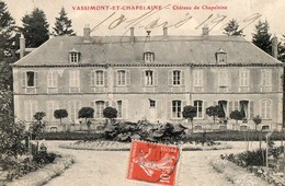 VASSIMONT ET CHAPELAINE - Chateau - France