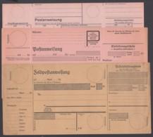 2 Versch. Postanweisungsformulare, Als Zugabe Bund Postanweiungsformular Von 1978 - Deutschland