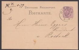 """P 5 I, Bedarf, Nachfolge-K2 Von Meck.-Schwerin """"Wismar"""", 6.1.79 - Deutschland"""