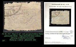 EARLY OTTOMAN SPECIALIZED FOR SPECIALIST, SEE...Mi. Nr. 753 -mayo K1 Qh - Kilis Provisurium -RRR- - 1920-21 Anatolie