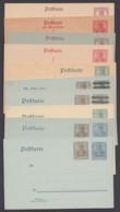 """""""Germania"""", 10 Versch. Ganzsachen, Dabei 3 Doppelkarten, Ungebraucht - Deutschland"""