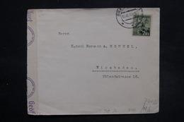 SLOVAQUIE - Enveloppe De Bratislava Pour Wiesbaden En 1941 Avec Contrôle Postal - L 27099 - Cartas