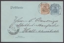"""P 63 Y, Bedarf Mit Zusatzfr., Württbg. K1 """"Hirrlingen"""", 11.5.03 - Deutschland"""