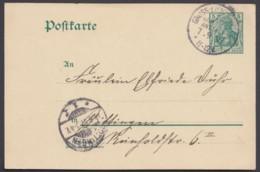 """P 73, Bedarf """"Groß-Lichterfelde, Kadettenanstalt"""", 7.9.07, KBHW : V93 - Deutschland"""