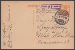 """P 110 I, Bedarf """"Mühlhausen/Els."""", 3.5.17, Pass. Zensur - Deutschland"""
