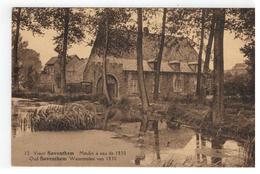 12.Zaventem  Vieux Saventhem Moulin à Eau De 1830  Oud Saventhem Watermolen - Zaventem