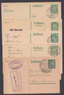 """""""Adler"""", 5 Versch. Bedarfskarten, Dabei F- Und A-Karte! - Deutschland"""