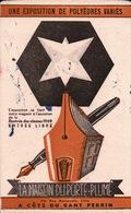 Ancien BUVARD Illustré LA MAISON DU PORTE PLUME - Stationeries (flat Articles)