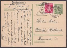 P 194, Bedarf Nach Holland Mit Pass. Zusatzfrankatur - Deutschland