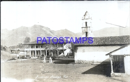 109938 MEXICO PUEBLA VIEW CHURCH POSTAL POSTCARD - Mexique