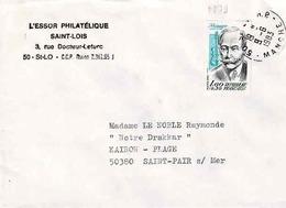 TP N° 2279 Seul Sur Enveloppe De St Lö - 1961-....