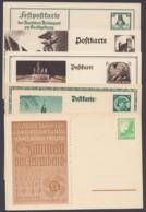 5 Versch. Sonderkarten 30er Jahre, Dabei Propaganda, Ungebraucht - Deutschland