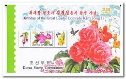 Noord Korea 2010, Postfris MNH, Flowers, Insects, Butterflies - Korea (Noord)