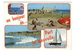 11 Port La Nouvelle N°14923 La Plage Le Phare Pub Bière Pelforth Voilier - Port La Nouvelle