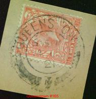 GB George V 1 2d Orange Die 1 Used In Ireland Postmarked Queenstown 14 JU 21 - 1902-1951 (Kings)